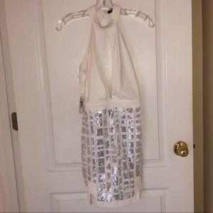 Sequins Skirt Dress